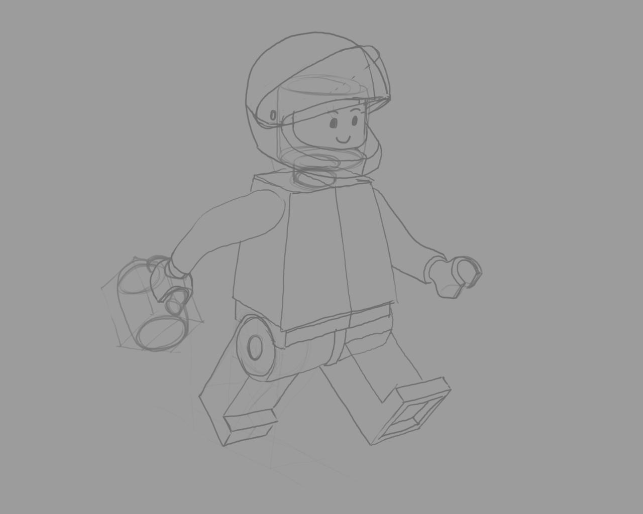 Real Astronaut - image 3 - student project