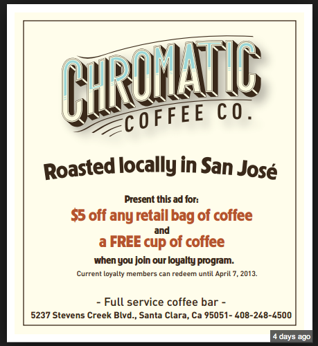 Chromatic Coffee - image 1 - student project