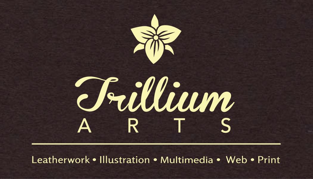 Trillium Arts Business Card options - image 2 - student project