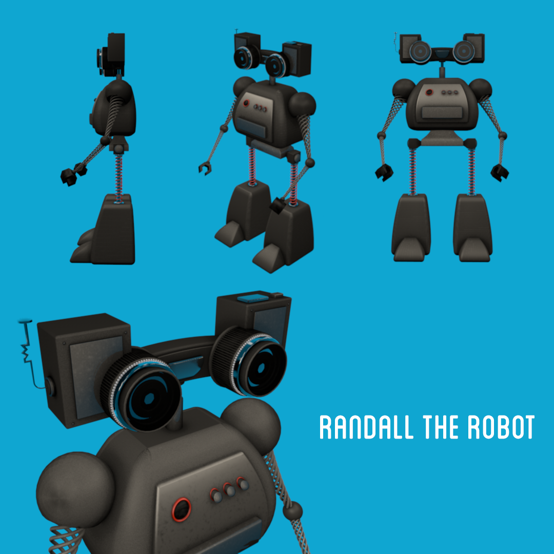 Randall The Robot (SAMPLE PROJECT) - image 1 - student project
