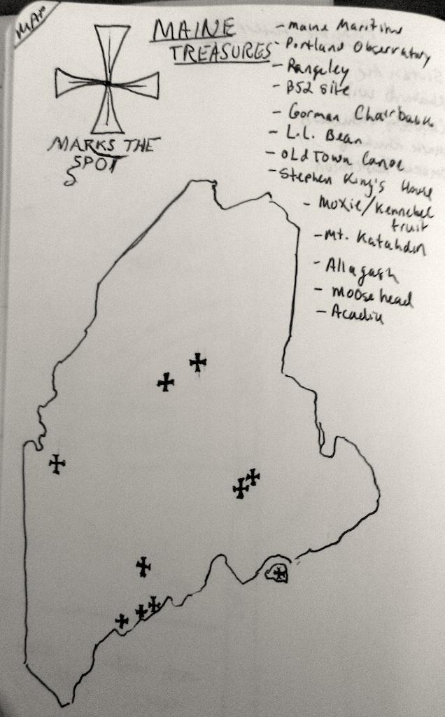 Maine, Maps & Typography: A design meld - image 2 - student project
