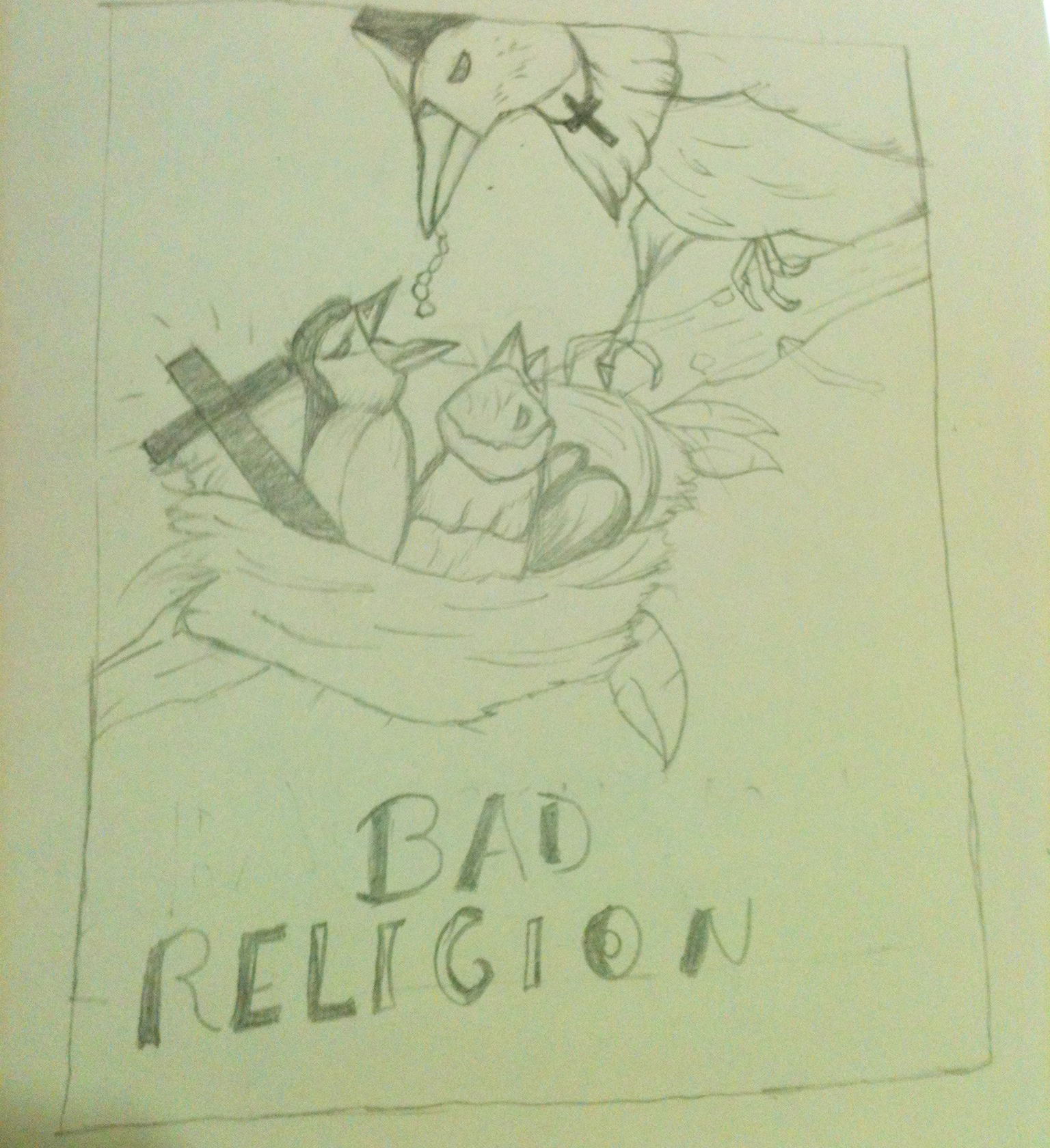 Bad Religion Poster - image 5 - student project