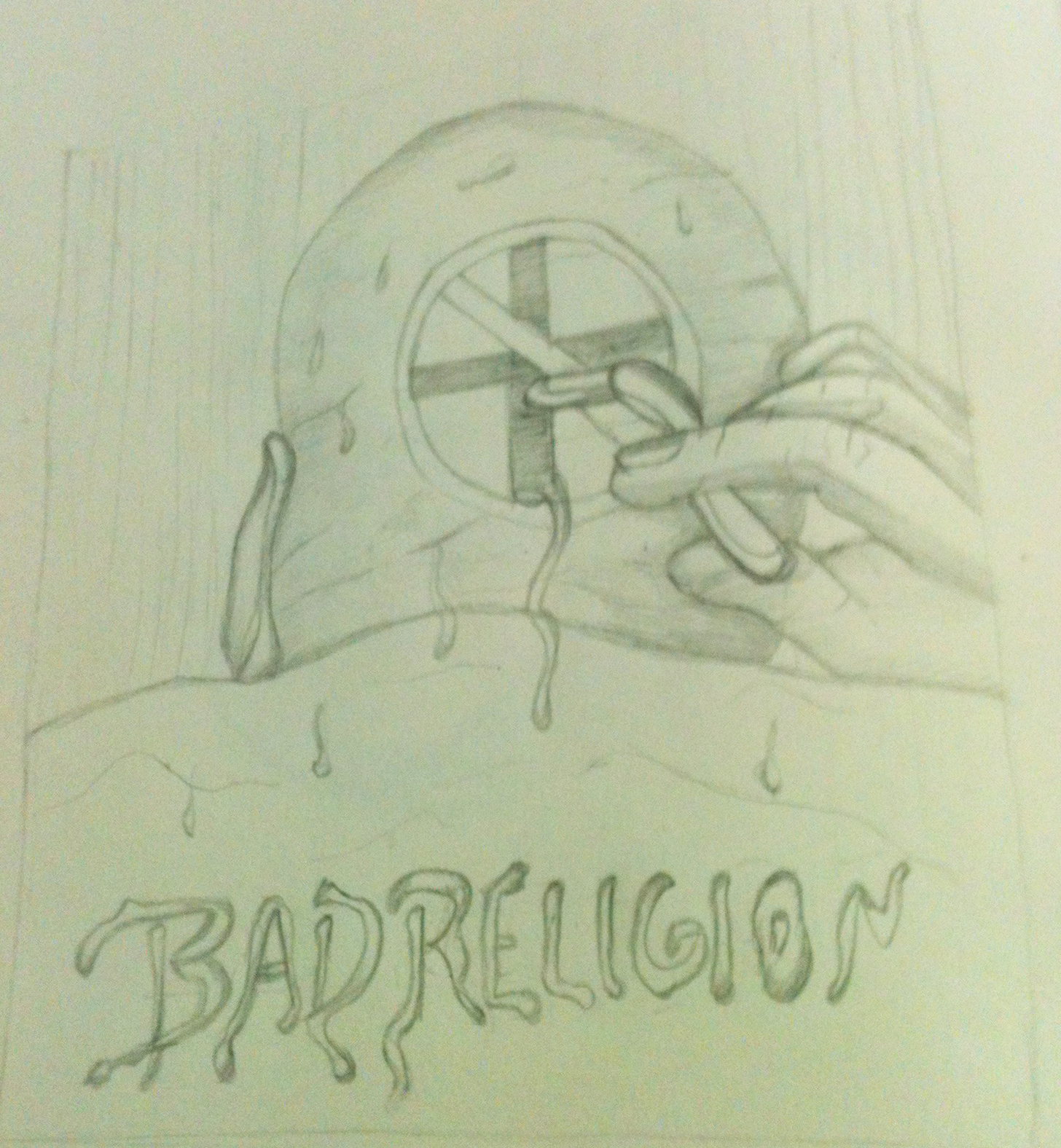 Bad Religion Poster - image 4 - student project