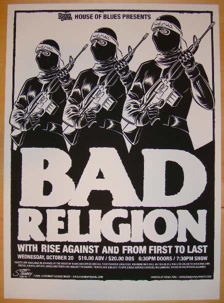 Bad Religion Poster - image 2 - student project