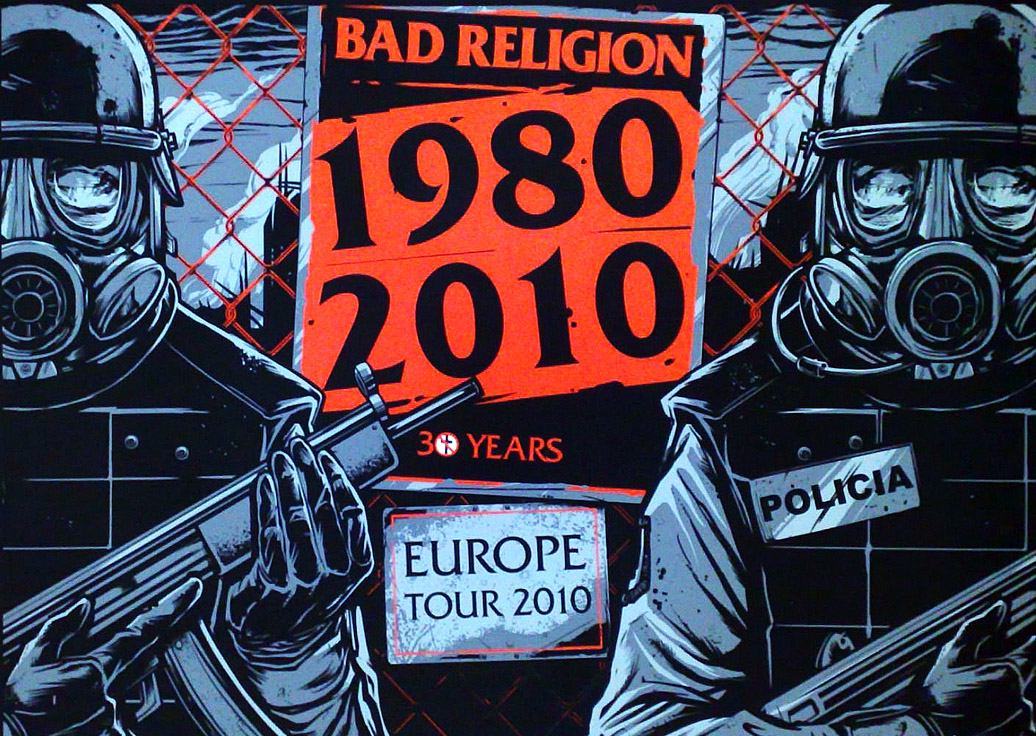 Bad Religion Poster - image 1 - student project