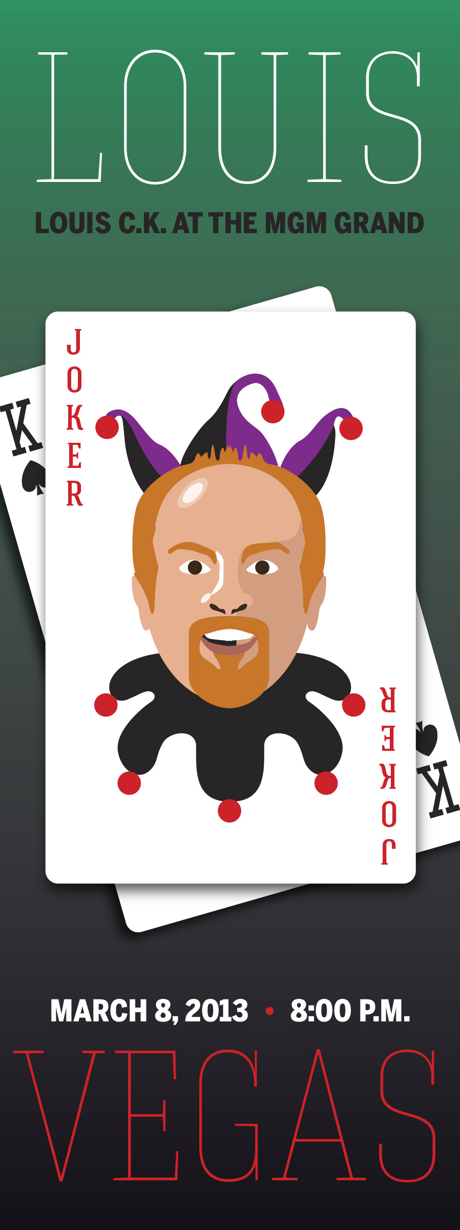 Louis C.K. @ The MGM Grand in Las Vegas - image 1 - student project