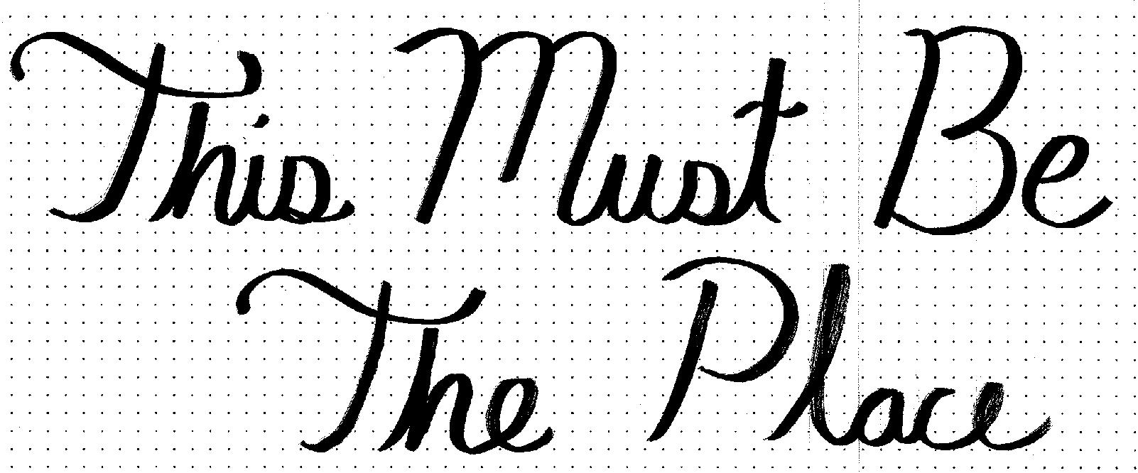 This Must Be The Place - image 1 - student project