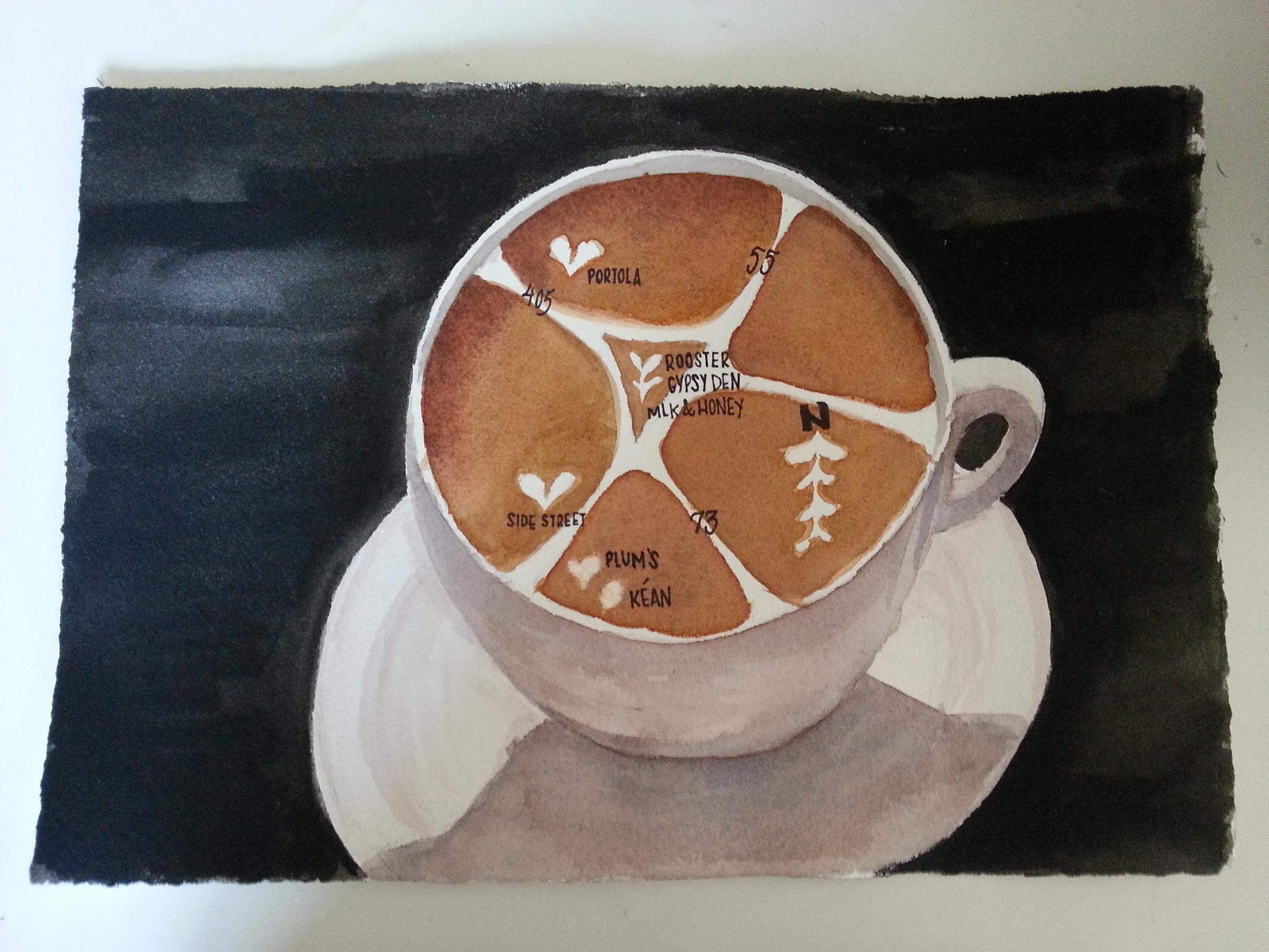 le tour de cafe - image 7 - student project