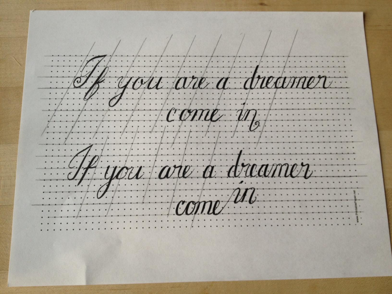 If you are a dreamer, come in - image 4 - student project