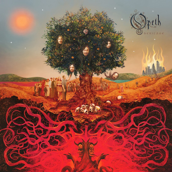 Opeth Show Poster - image 1 - student project