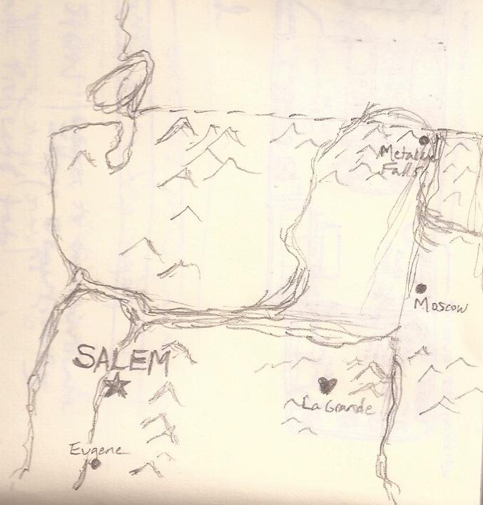 Wedding Map - The Road to Us - image 2 - student project