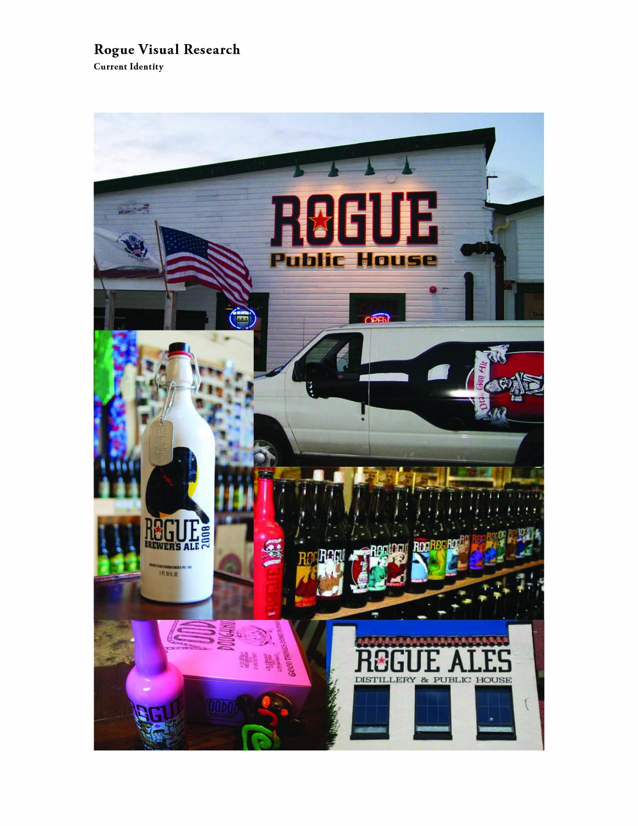 Bottle Label Redesign for Rogue Brand Chipotle Ale - image 1 - student project