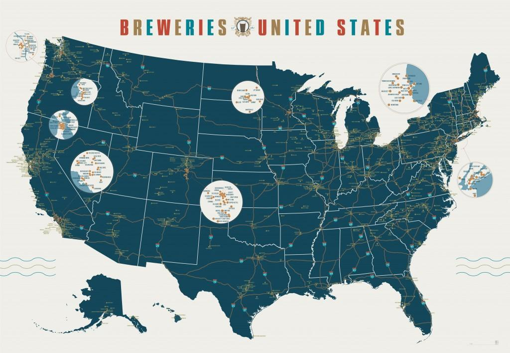 The Irish Craft Beer Hunt Map - image 1 - student project