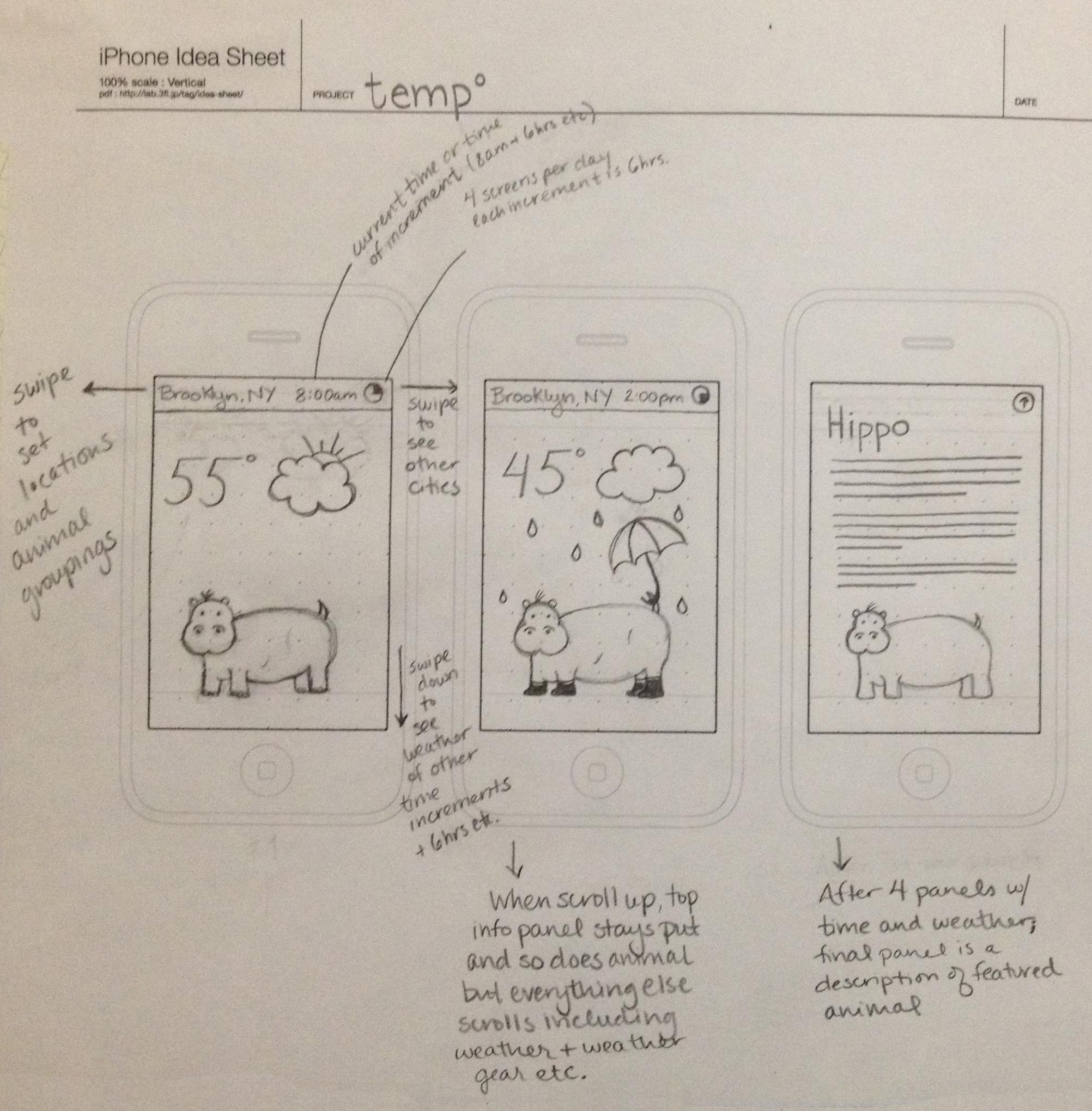 temp - a weather app for kids - image 1 - student project