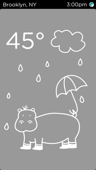 temp - a weather app for kids - image 4 - student project