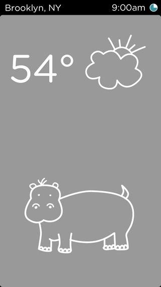 temp - a weather app for kids - image 3 - student project
