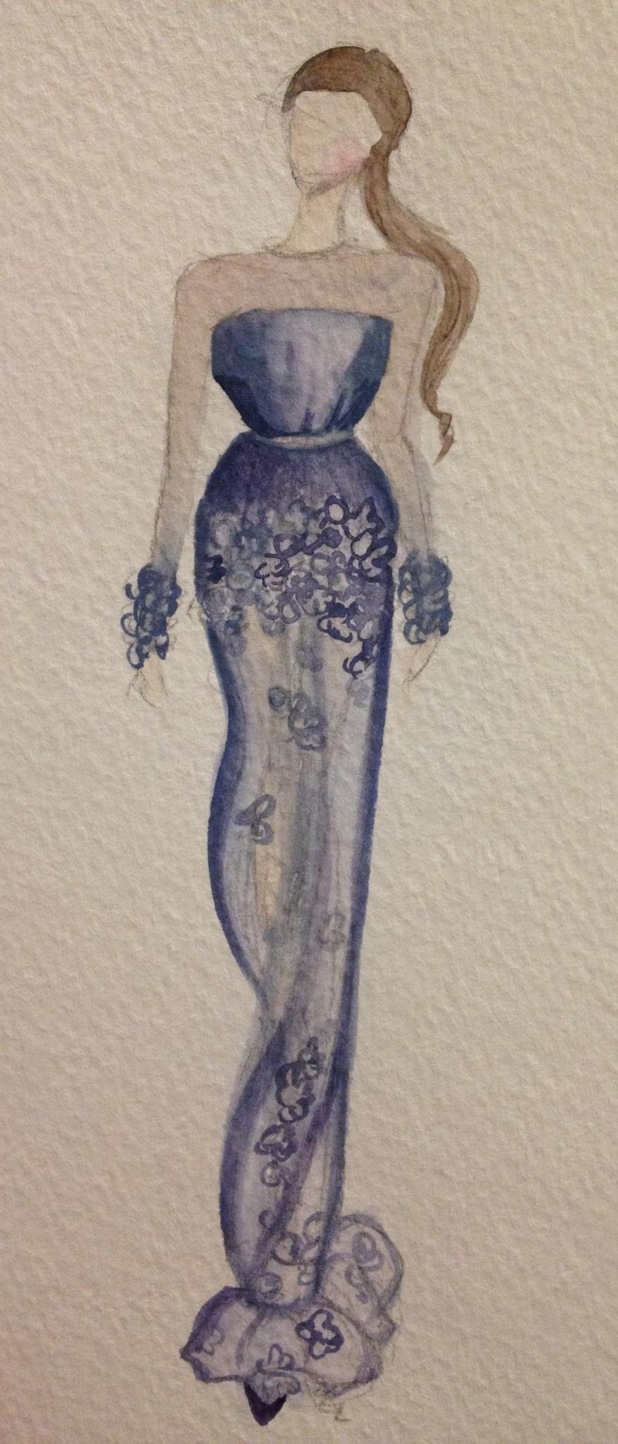 Watercolor. Diamond - image 1 - student project