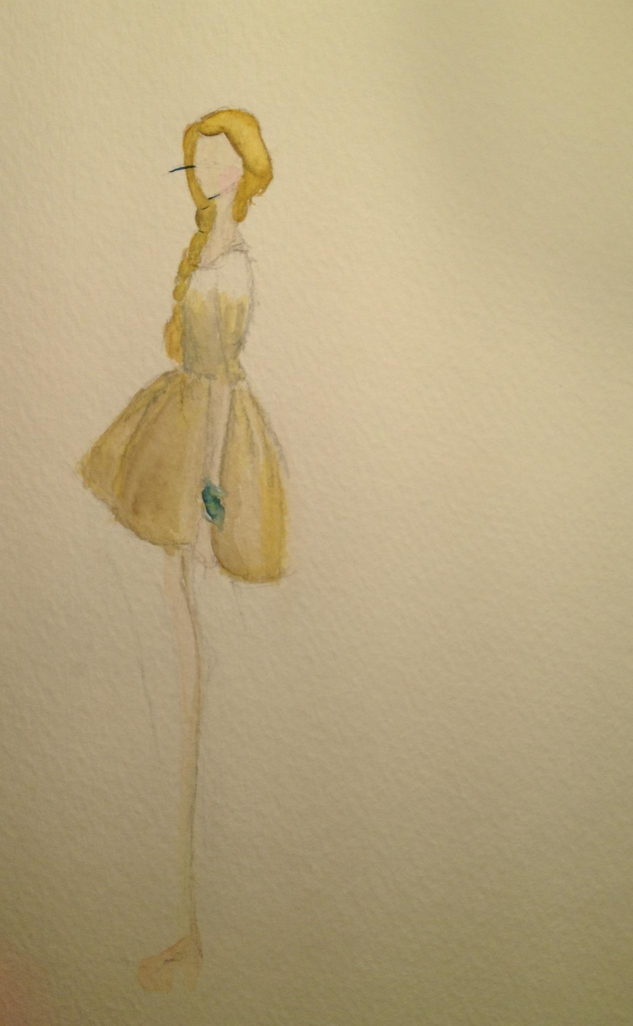 Watercolor. Diamond - image 2 - student project