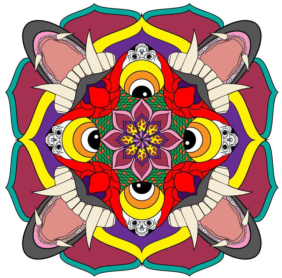 Tibetan style Mandala - image 4 - student project