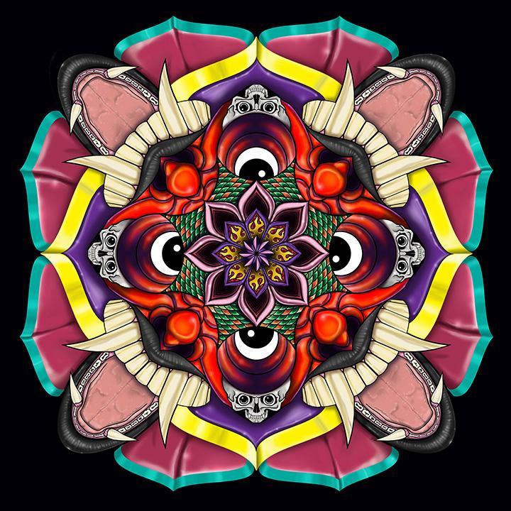 Tibetan style Mandala - image 5 - student project