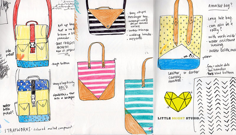 Waxed Canvas Bags - image 1 - student project