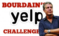 Julian Cole - UPDATE 3 - Bourdain's Yelp Challenge