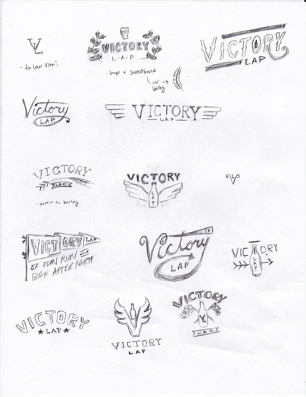 Victory Lap logo - image 2 - student project