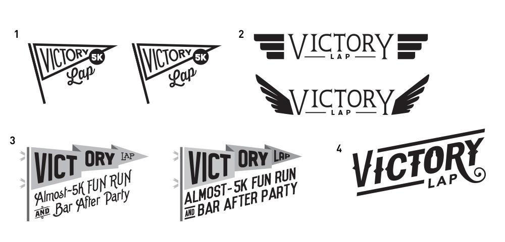 Victory Lap logo - image 4 - student project