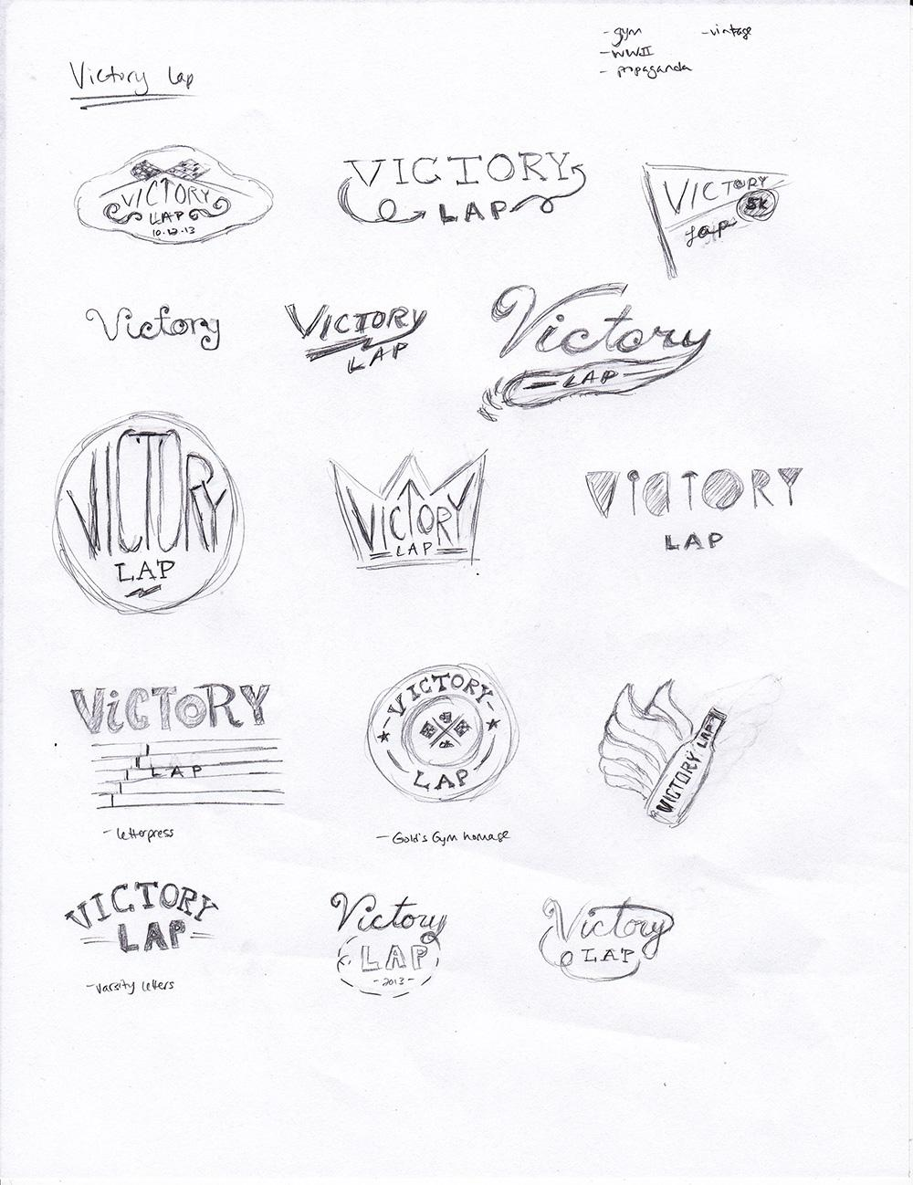 Victory Lap logo - image 1 - student project