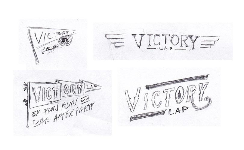 Victory Lap logo - image 3 - student project