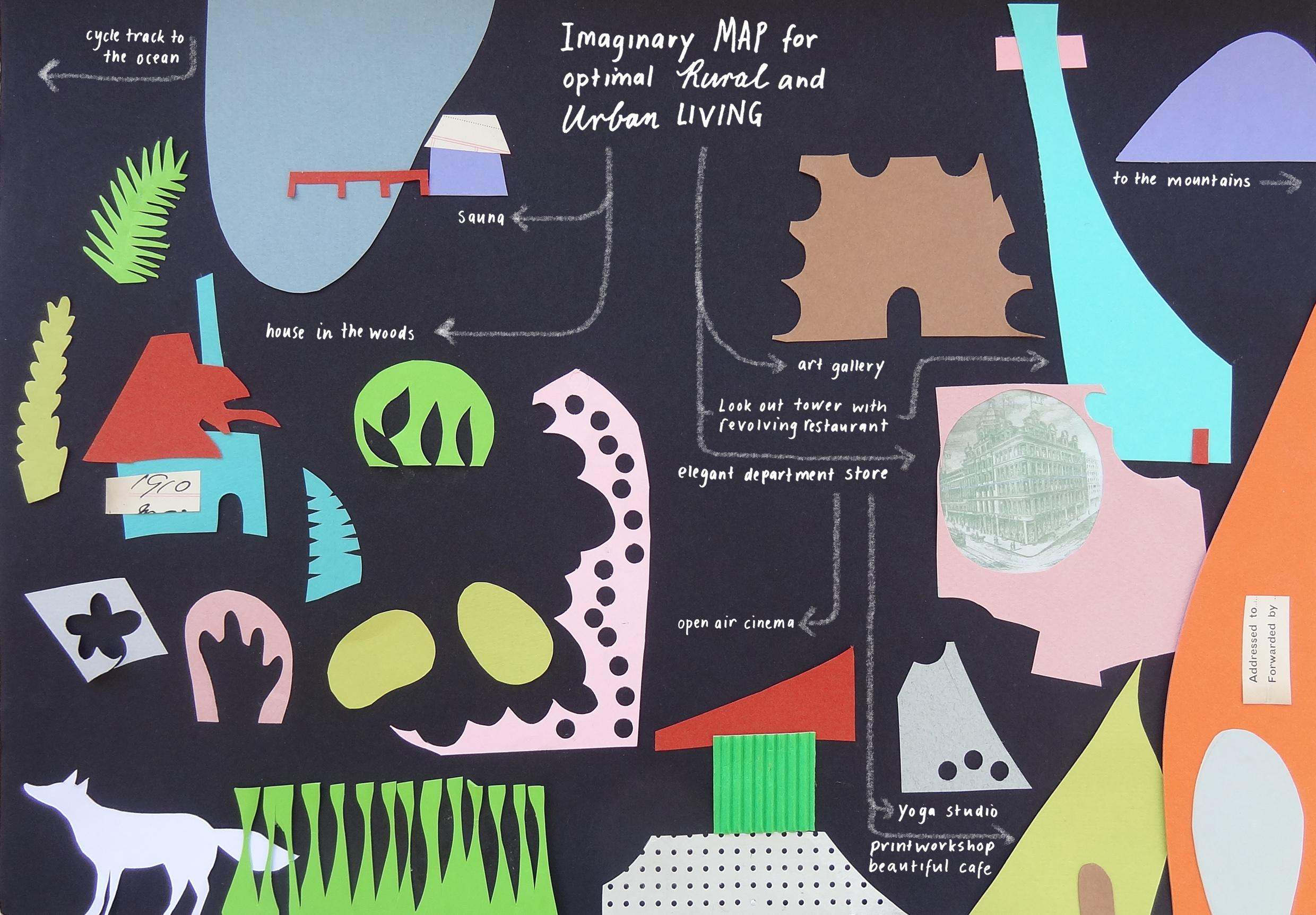 London - Places I Recall, Now Gone / Imaginary Map / The World As I Knew it as a Child - image 2 - student project
