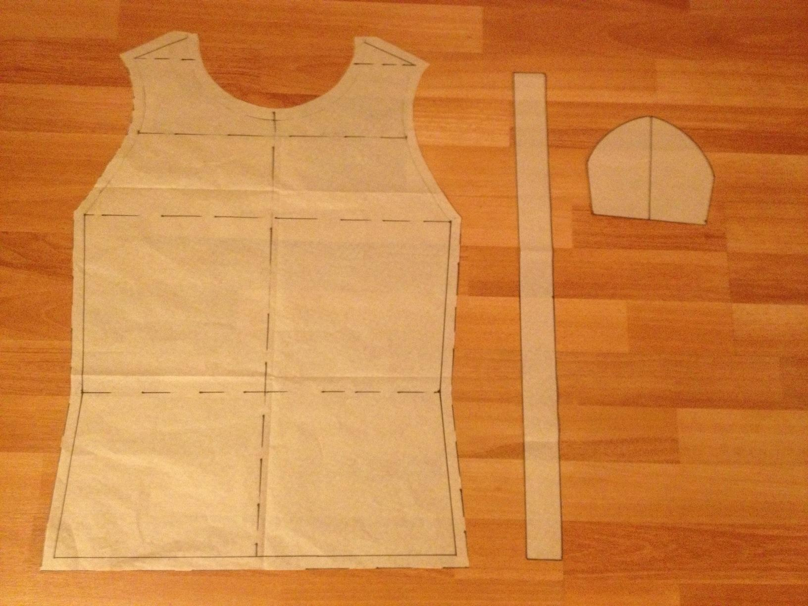 My first T-Shirt Pattern - image 6 - student project