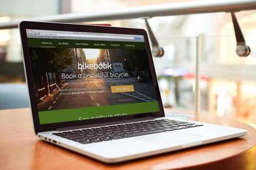BikeBook Website - Moonrise Kingdom Inspired - image 1 - student project