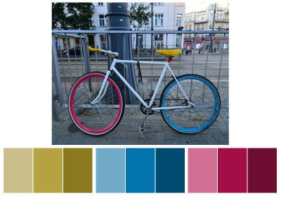 BikeBook Website - Moonrise Kingdom Inspired - image 2 - student project