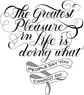 """""""The Greatest Pleasure ..."""" - image 1 - student project"""