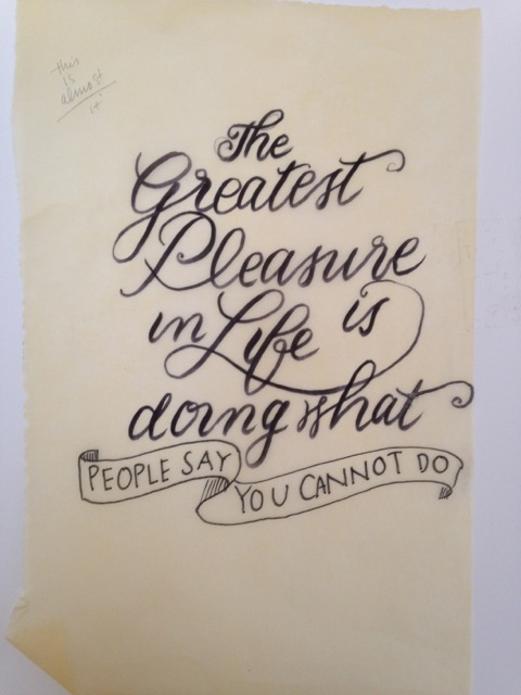 """""""The Greatest Pleasure ..."""" - image 4 - student project"""