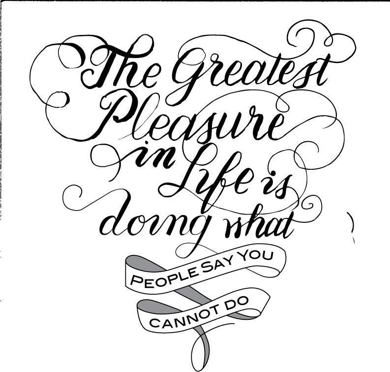 """""""The Greatest Pleasure ..."""" - image 3 - student project"""