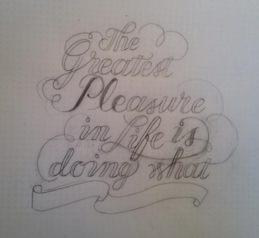 """""""The Greatest Pleasure ..."""" - image 5 - student project"""