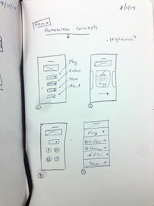 New iPhone Game Concept - image 2 - student project