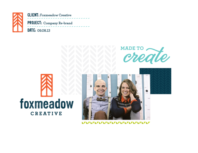 Foxmeadow Creative - Rebrand - image 5 - student project