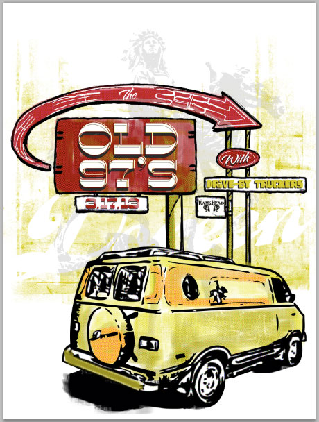Old 97's - image 2 - student project