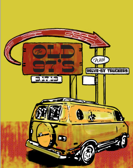 Old 97's - image 3 - student project