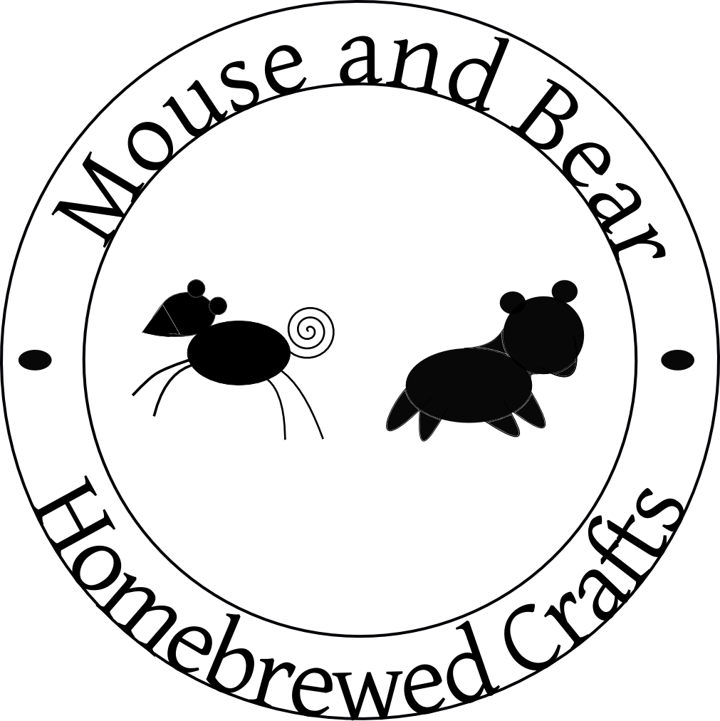 Logos for Mouse and Bear Homebrewed Crafts - image 2 - student project