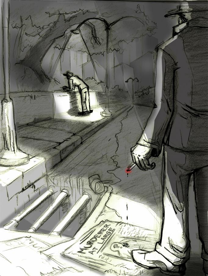 Noir and Murder - image 1 - student project