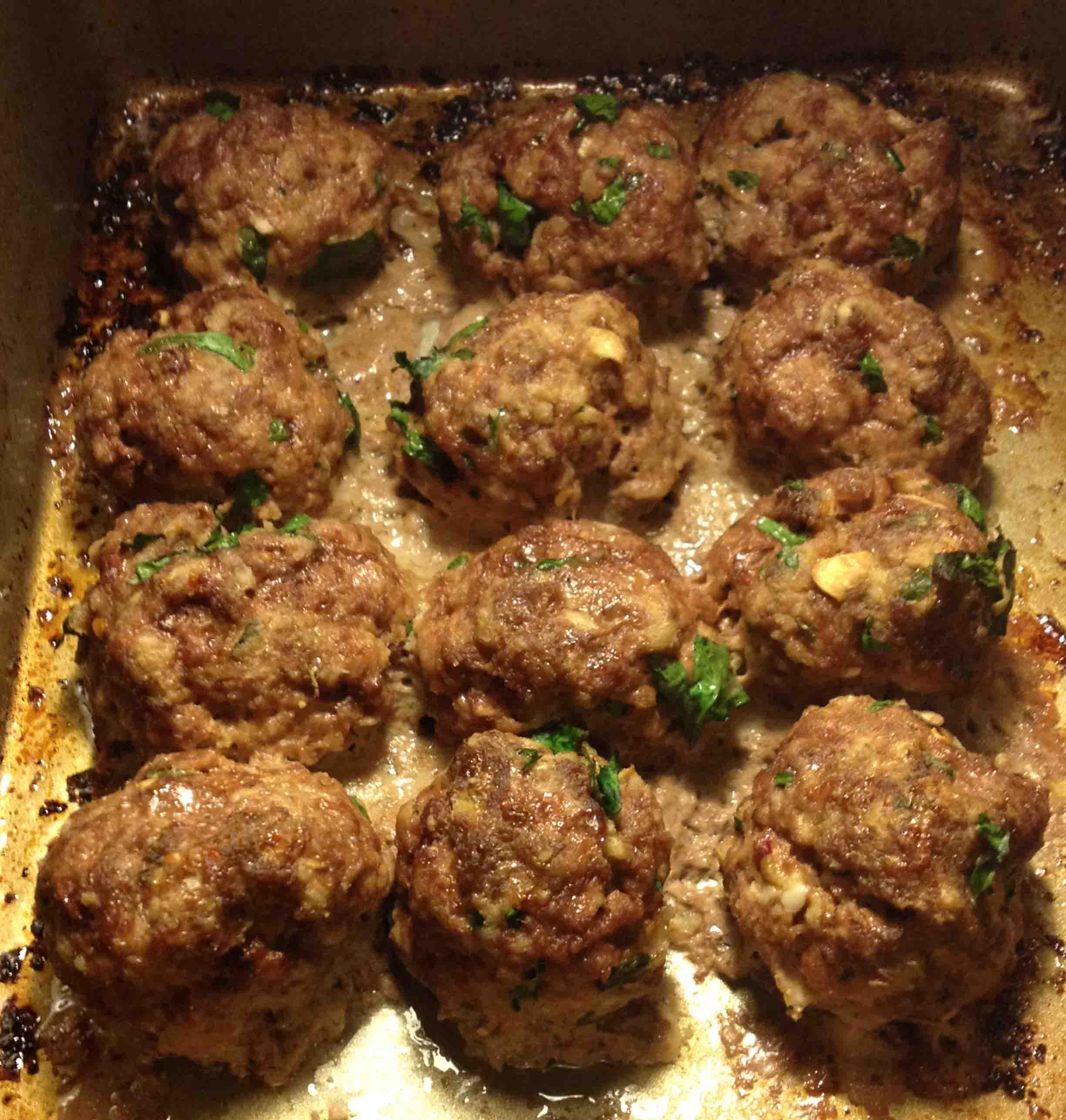 Meat and Veggie Balls - image 2 - student project