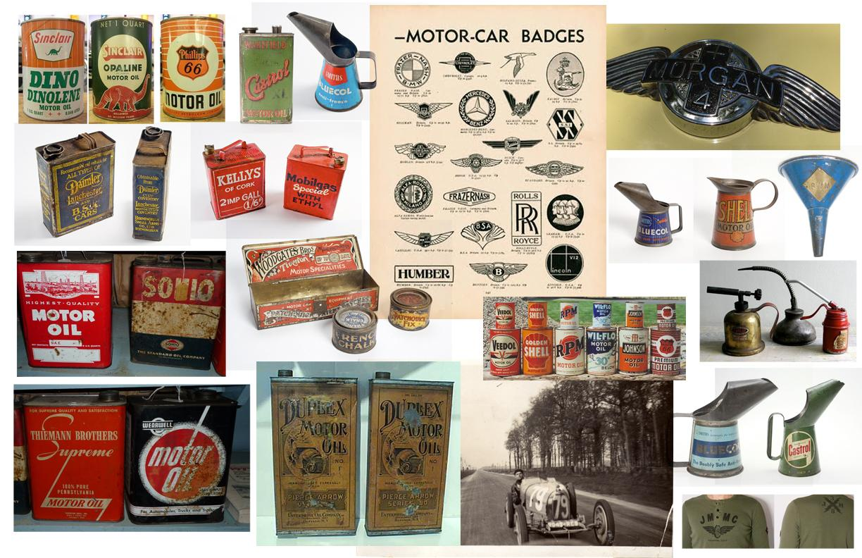 Vroom Motor Oil can label - image 1 - student project