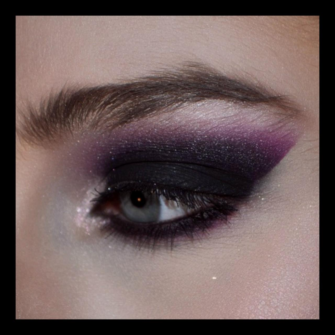 Sultry Night Time Look--Purple Smokey Eye! - image 1 - student project