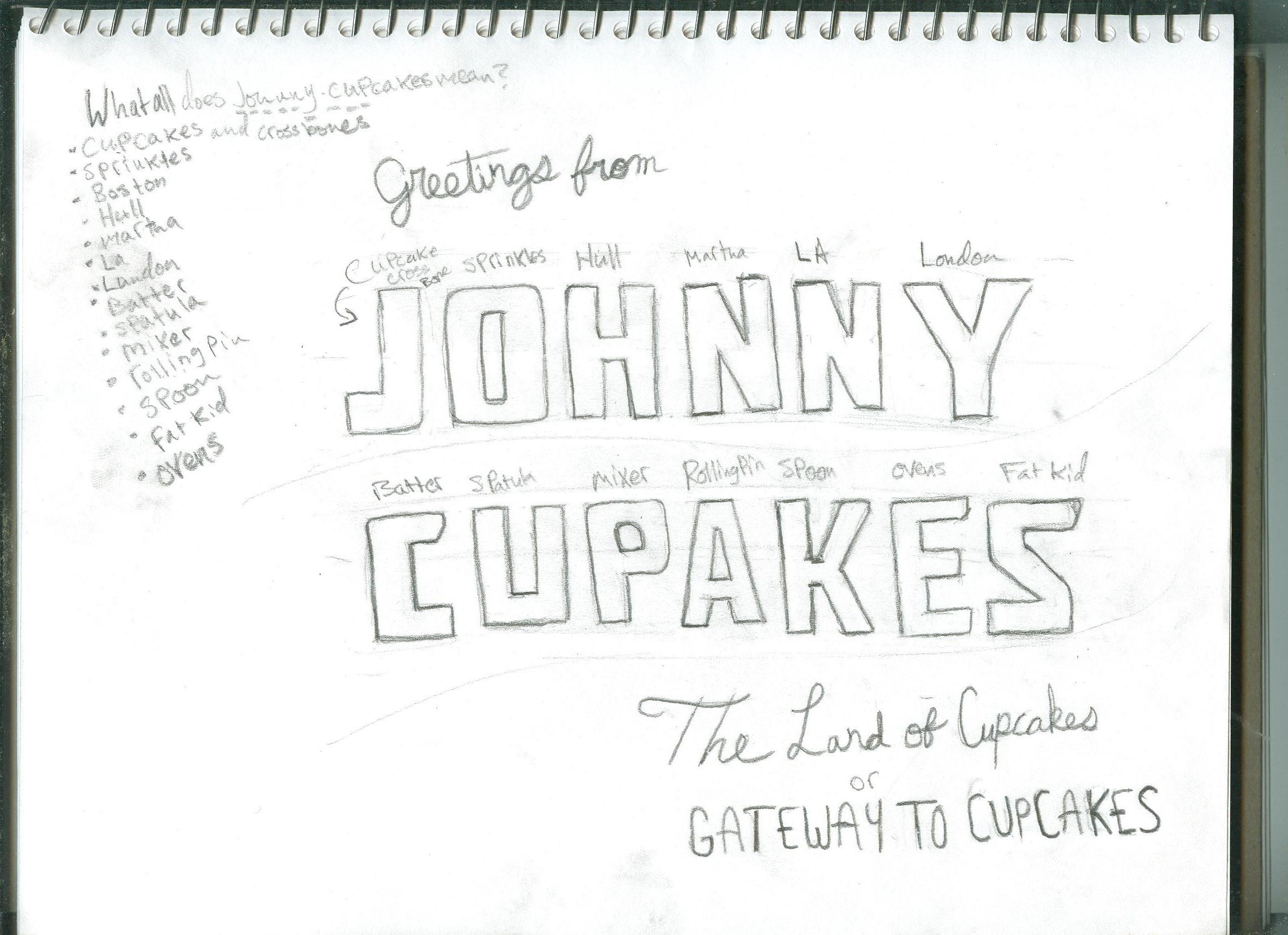 Justin McLaughlin's take on Johnny Cupcakes. - image 4 - student project