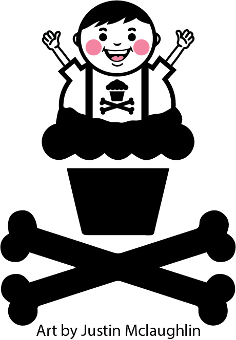Justin McLaughlin's take on Johnny Cupcakes. - image 9 - student project