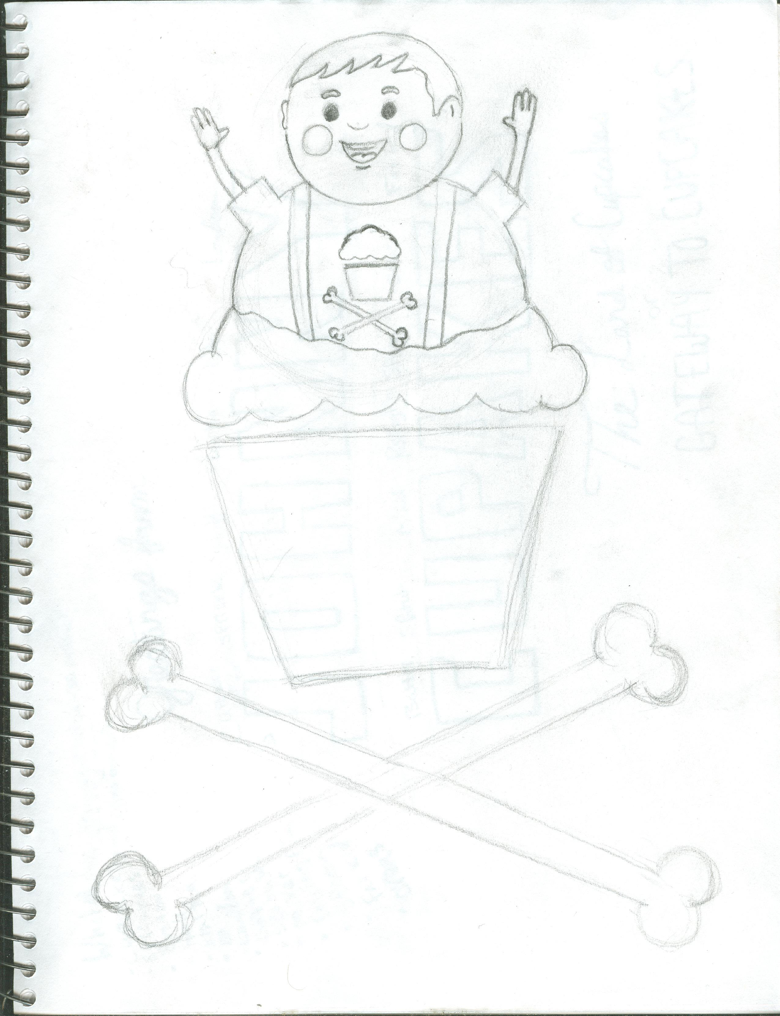 Justin McLaughlin's take on Johnny Cupcakes. - image 6 - student project